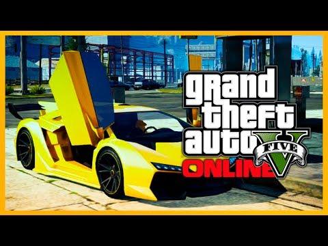 "GTA 5 Online: GOLD ZENTORNO - ""Neon Gold"" Paint Job! (GTA V)"