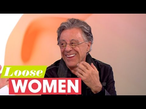 Frankie Valli - The British Jersey Boys Are The Best   Loose Women
