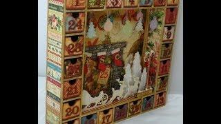 Altered Advent Calendar Part-7of 8 (vlog)