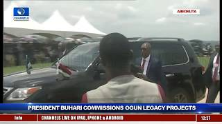 Buhari Commissions Legacy Projects In Ogun Pt.5