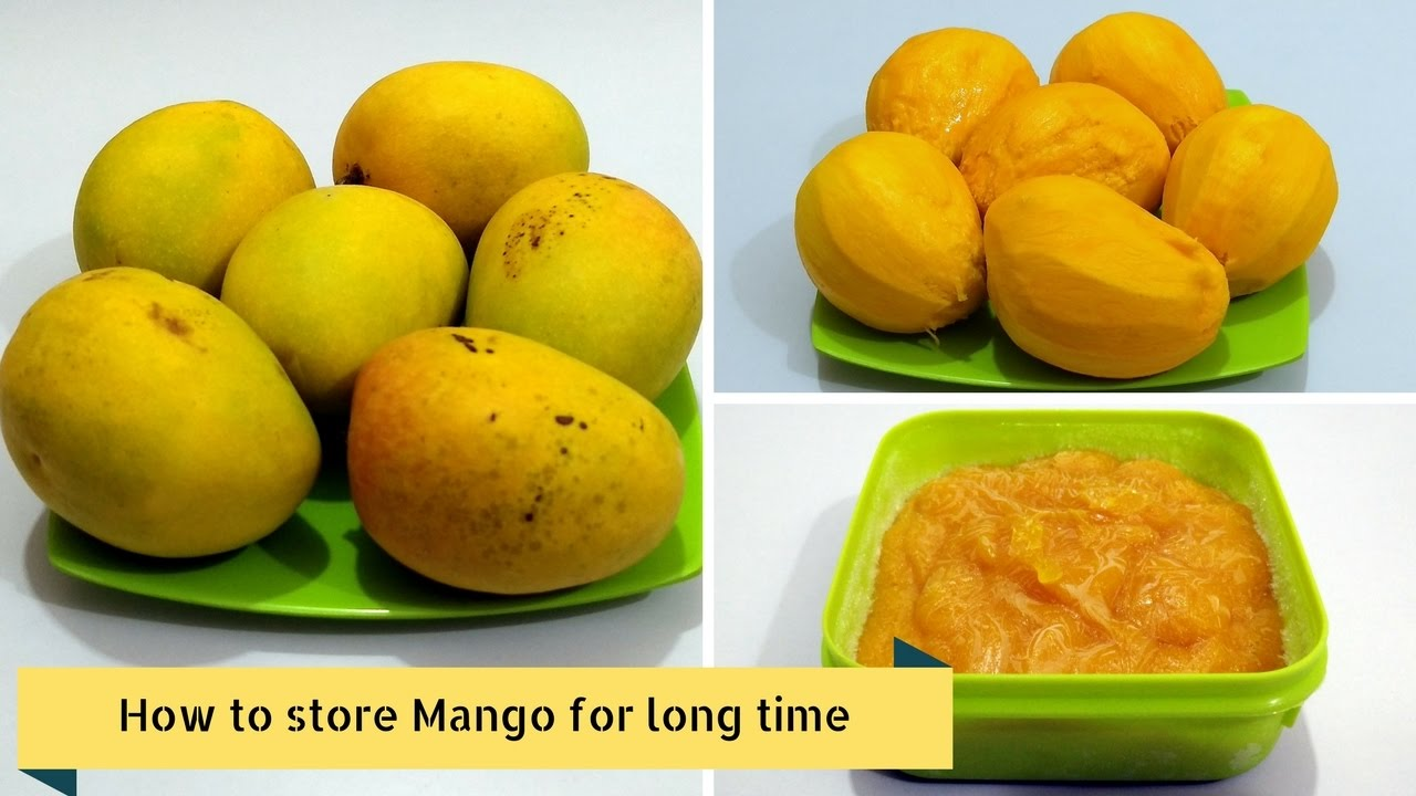 How To Store Mango For Long Time How To Freeze Mangoes Mango Freezing Tips By Cooking With Smita Youtube