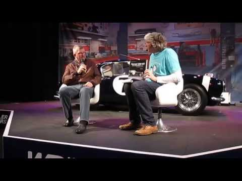 Ross Brawn being interviewed by Edd China at the Classic Motor Show 2015