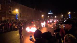 Stonehaven New Year Fireballs 2015