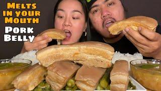 MELTS IN YOUR MOUTH PORK BELLY SINIGANG MUKBANG   MUKBANG PHILIPPINES   FILIPINO FOOD