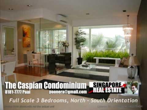 The Caspian Condominium 3 Bedroom, Singapore Condo For Sale