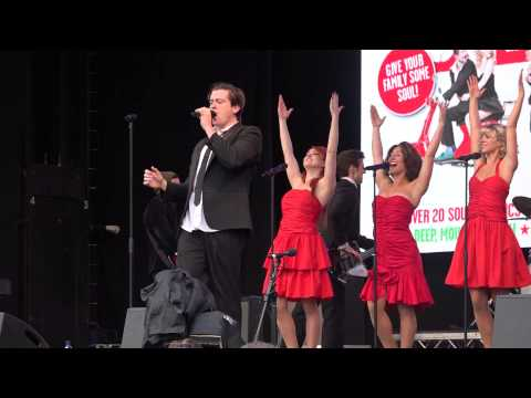 The Commitments @ West End Live 2015 - Trafalgar Square London. Part 1