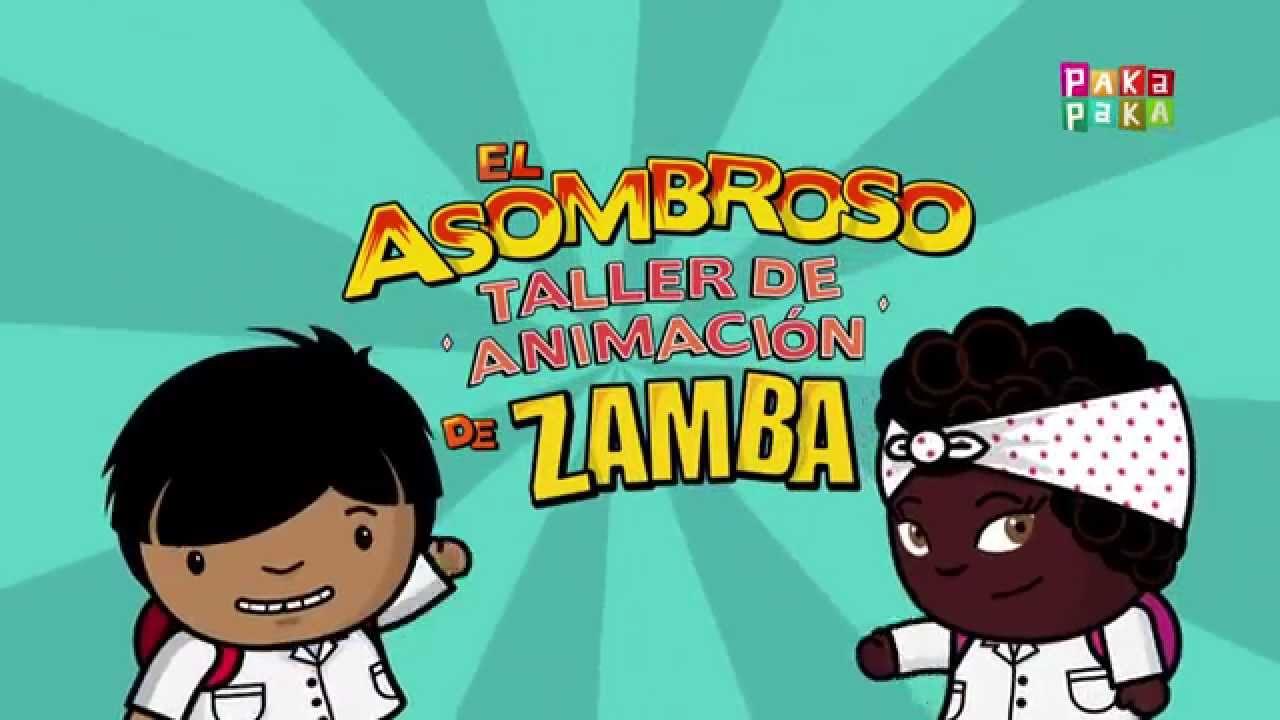 Anim tu propio video en el asombroso taller de animacion for El asombroso espectaculo zamba