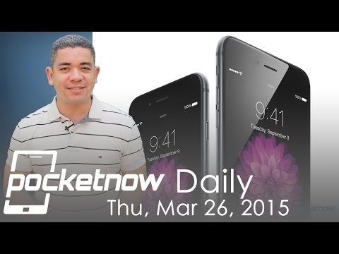 Three iPhones for 2015, Galaxy S6 dates, Microsoft Surface & more - Pocketnow Daily - 동영상