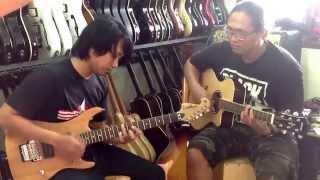 Gitaris Batak terbaik di Indonesia menurut saya