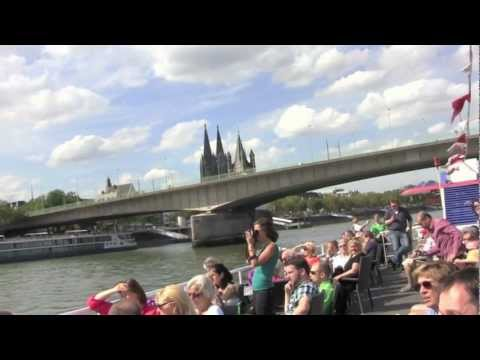 River Rhine Boat Trip in Köln (Cologne), Germany - 27th August, 2012
