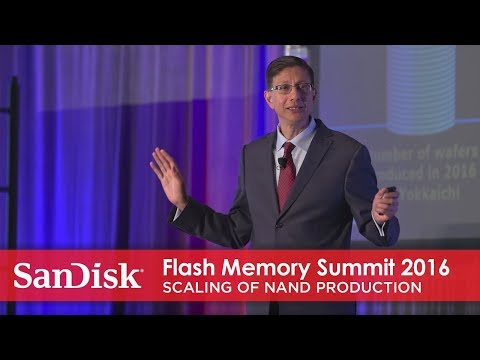 Flash Memory Summit 2016: scaling of NAND production