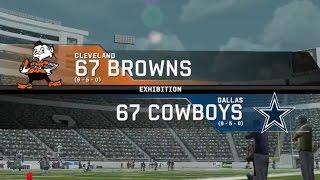 1967 Cleveland Browns vs. 1967 Dallas Cowboys