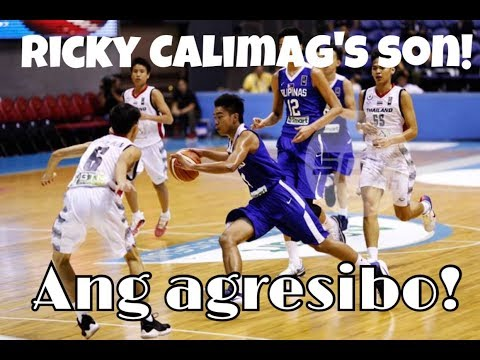Like Father Like Son! Ricky Calimag's son Rc Calimag!