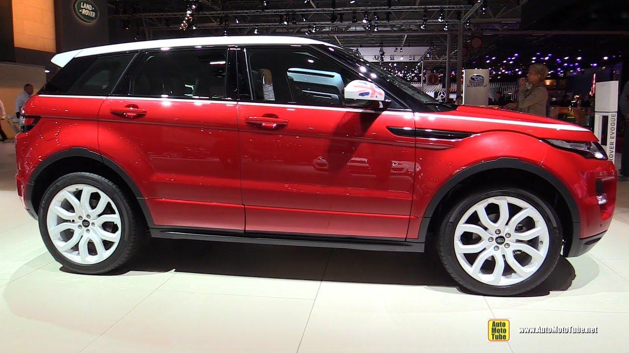 2015 land rover evoque interior. 2015 range rover evoque td4 diesel exterior and interior walkaround 2014 paris auto s youtube land 4