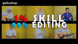 1% SKILL 99% EDITING (ARMADA-ASAL KAU BAHAGIA COVER) Putih Abu-abu MP3