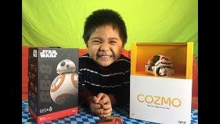 Star Wars BB-8 Ollie VS Anki Cozmo Robot