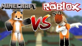 MINECRAFT VS ROBLOX - THE ULTIMATE SHOWDOWN