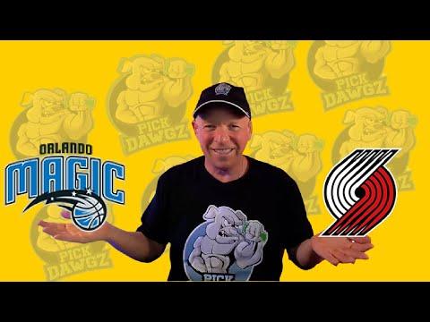 Orlando Magic vs Portland Trail Blazers 3/26/21 Free NBA Pick and Prediction NBA Betting Tips