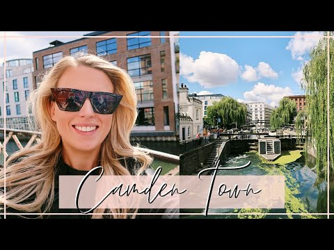 CAMDEN MARKET AND CANAL LONDON- Walking Tourist Guide- Food + Shopping!