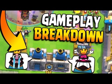 2v2 CLAN BATTLE GAMEPLAY BREAKDOWN! Clash Royale Everything About Clan Battles