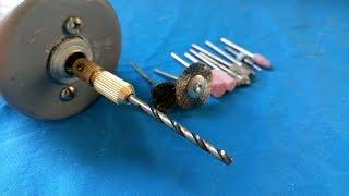hướng dẫn chế máy mài cắt đa năng từ mô tơ 840