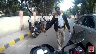 First Time TRAFFIC COPS STOPPED ME! | Bangalore Roads - 28