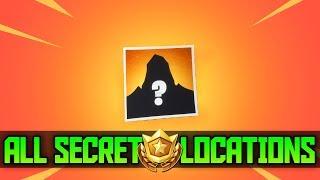 ALL 7 Secret Season 5 Battle Star Locations in Fortnite (Free Battle Pass Tiers)