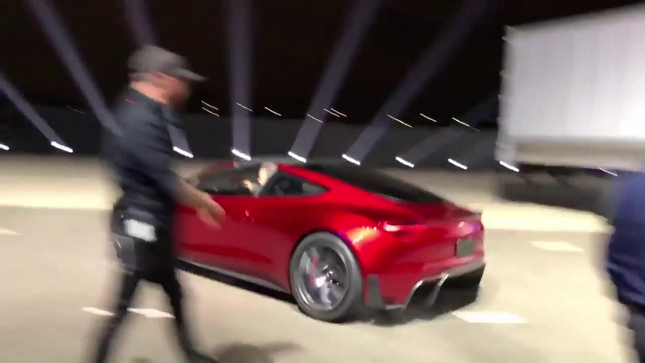 Tesla Roadster Acceleration Run