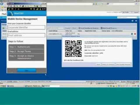 Getting Started with MaaS360 Enrolling an Android Device