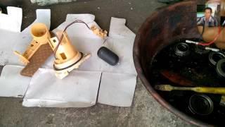 Cara Membersihkan Saringan Pompa Injeksi Motor matic
