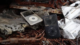 2 Abandoned iPods Left Outside 2+ Years! Can they be revived?
