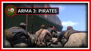 Arma 3: Pirates Boarding a Cargo Ship