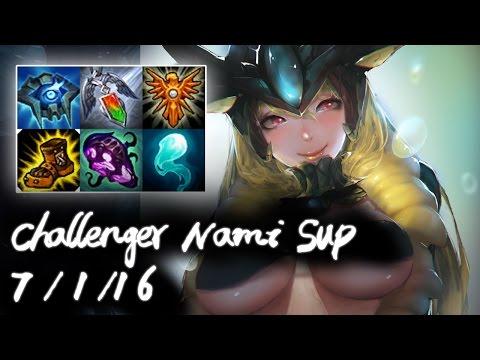 Challenger Nami Support vs Zyra | Korea High Elo