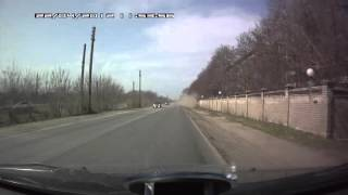 Hyundai ix35 улетел в кювет смотреть