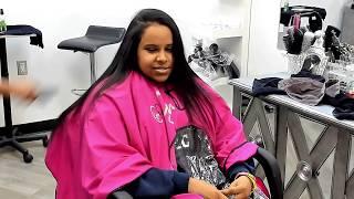 OMG HER HAIR IS SO LONG! SHOULD WE CUT IT ALL??? FOLLOW ME ON INSTAGRAM @_iamcyndoll_