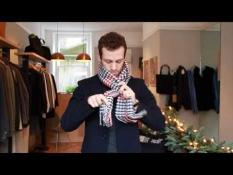 How Modern Man Can Tie His Scarves