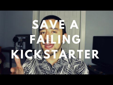 How to Save a Failing Kickstarter Campaign