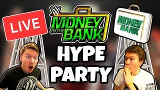 🔴 WWE MONEY IN THE BANK 2018 LIVE HYPE PARTY