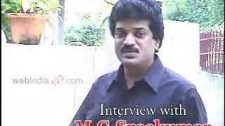 Interview with M.G.Sreekumar - Playback singer.
