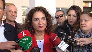 """Montero, convencida de una """"victoria reforzada"""" del PSOE"""