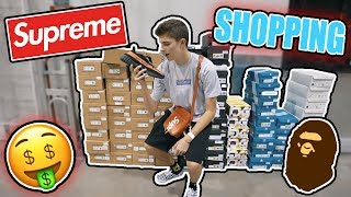 NEW SUPREME/SNEAKER PICKUPS FROM SNEAKER SHOW!?