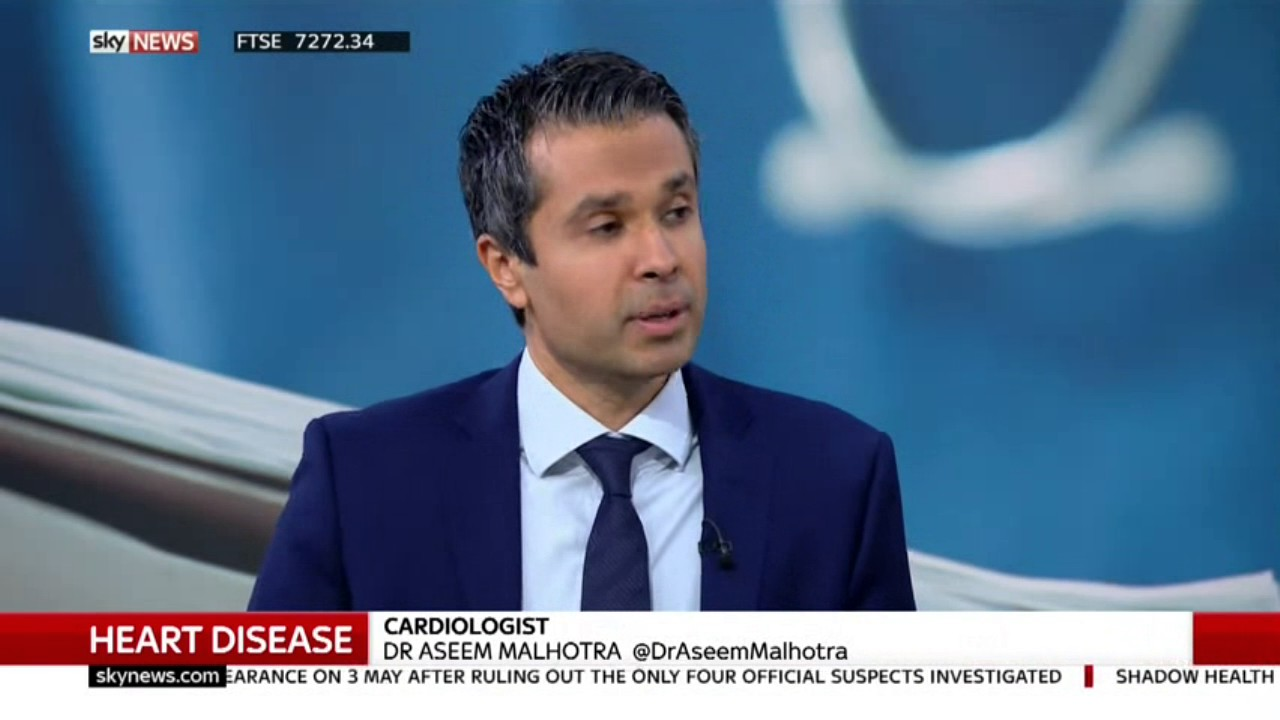 Aseem on Some real Root Causes of Heart Disease - SKY News
