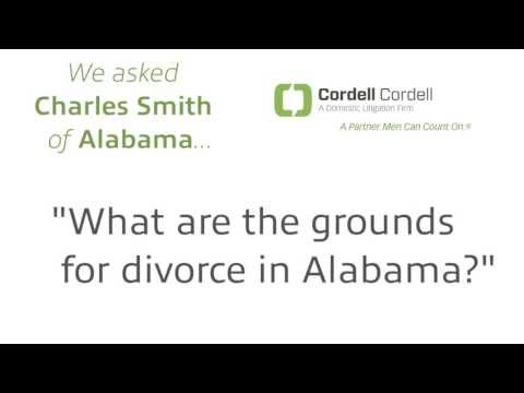 Ask A Cordell And Cordell Birmingham Divorce Lawyer: What Are The Alabama Divorce Grounds?