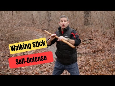 How To Use a Walking Stick for Self-Defense