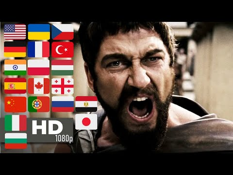 King Leonidas: THIS IS SPARTA ! | 1080p | 300 (2006) | Multilanguage