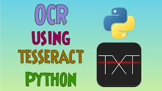 OCR(Optical Character Recognition) using Tesseract and Python | Part-1
