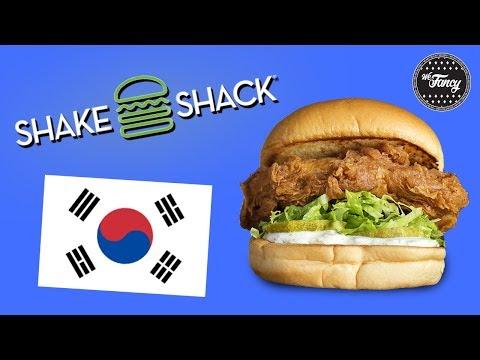 Shake Shack in Korea - Best Chicken Burger Ever?