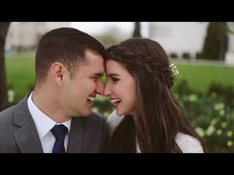 ALL THOSE HEART EYES: First Look Wedding Video