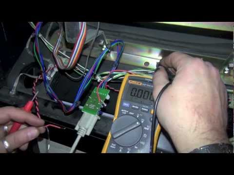 How to install an Ultimarc Video Amplifier in Revenge From Mars (RFM) pinball with 5V mod - P2Ks