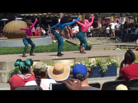 Dance Dragon Slayer Performance Team at Oakland Dance Festival
